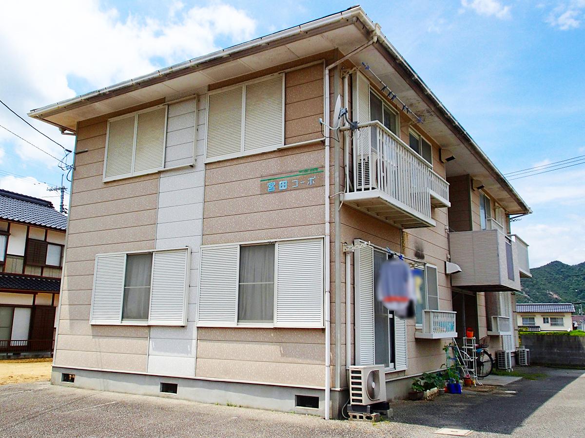 賃貸アパート 宮田コーポ(和気町日室)
