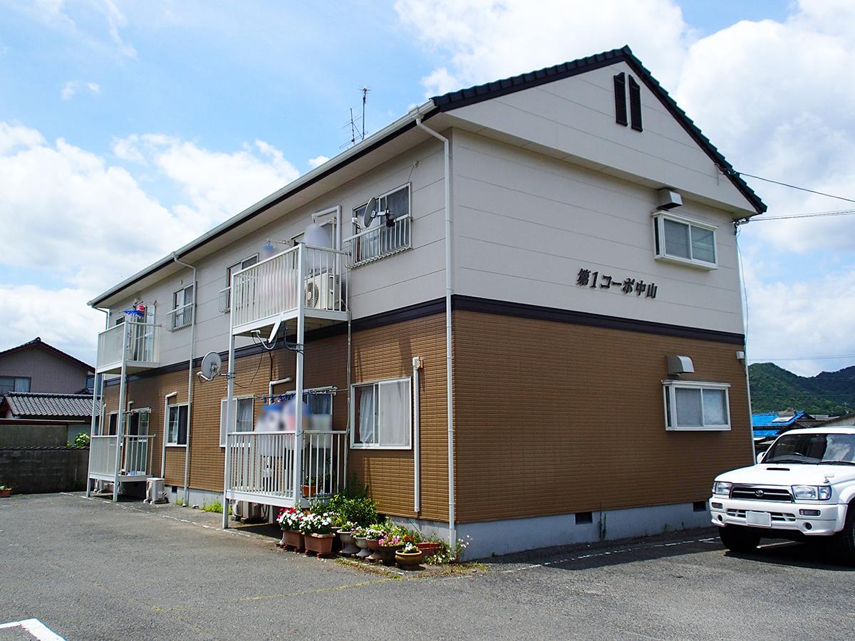 賃貸アパート 第1コーポ中山(和気町尺所)
