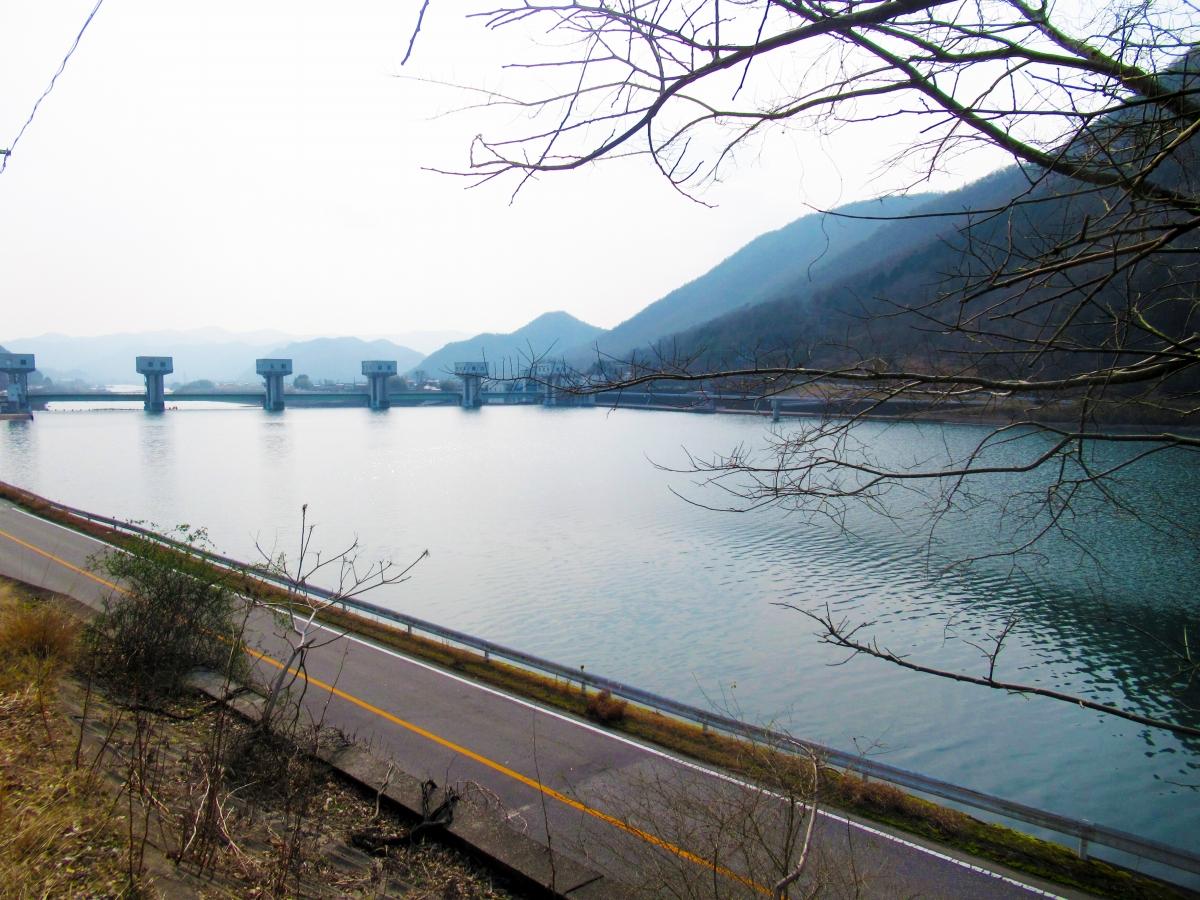 吉井川の新田原井堰