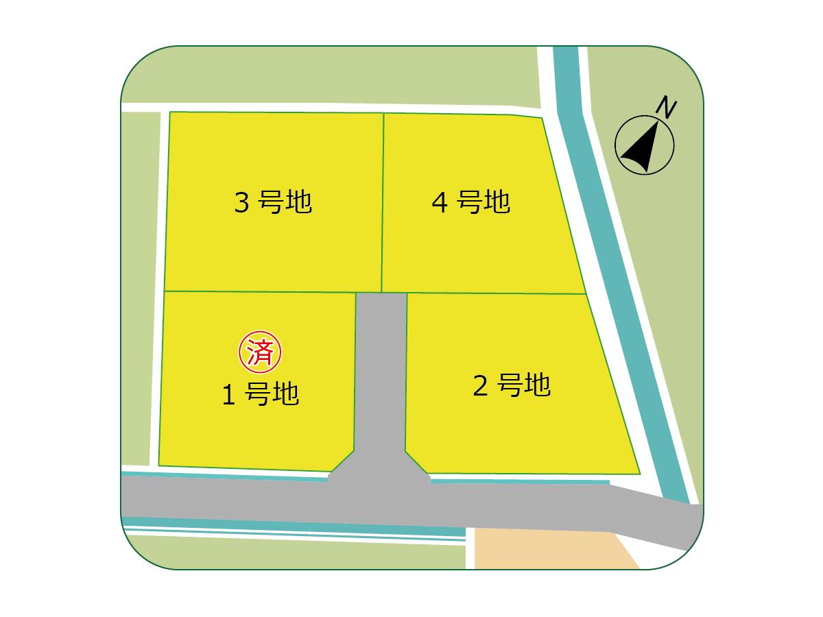 入田グリーンタウン 分譲地