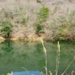 岩戸別荘地近くの溜池