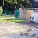 河村製作所社宅用地売地(北側から撮影)